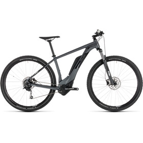 Cube Reaction Hybrid ONE 400 Bicicletta elettrica Hardtail grigio